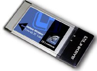 Wireless PCMCIA Network Adapter
